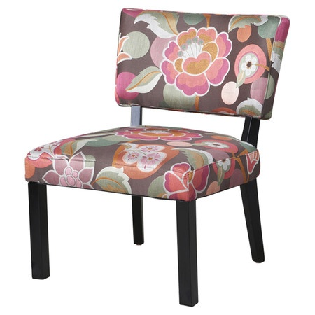 I pinned this Powell Slipper Chair in Pink & Brown from the Painter's Palette event at Joss and Main!