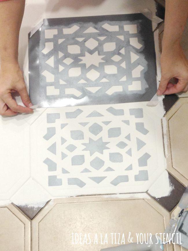 M s de 25 ideas incre bles sobre suelos de cer mica en for Pisos pintados modernos