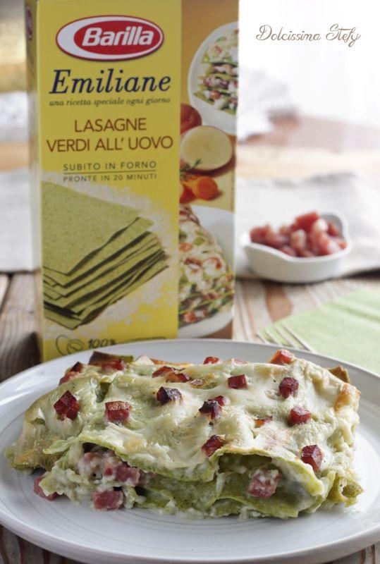Lasagne Scamorza e Speck