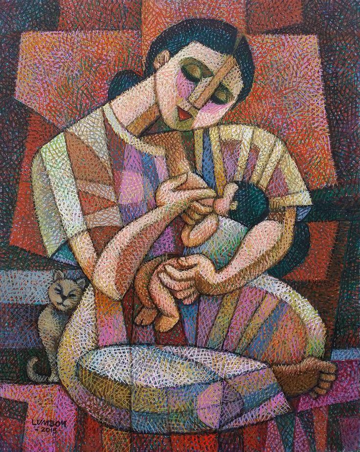 Mother's Milk - by Ninoy Lumboy, a Filipino artist