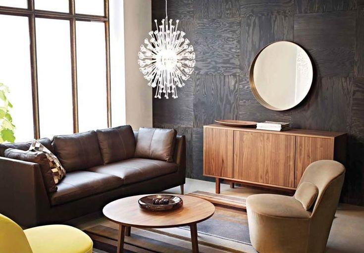 Изысканный стиль серии Стокгольм от Икеа придется по вкусу истинным ценителям качественной мебели в своем доме.