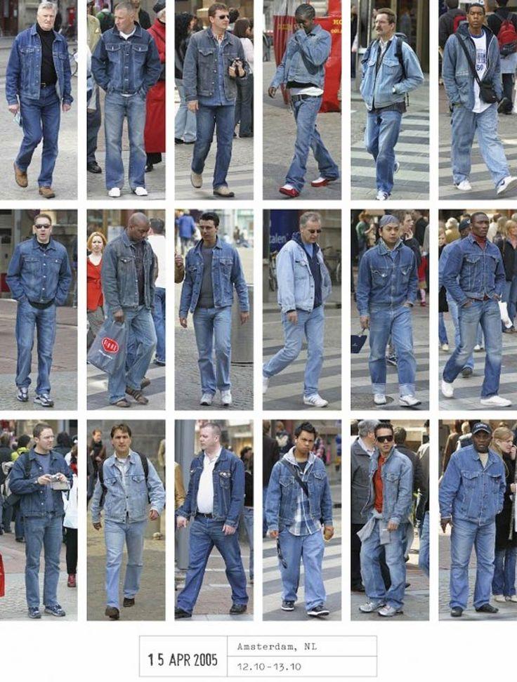 Tous les mêmes – Le photographe Hans Eijkelboom capture les styles vestimentaires