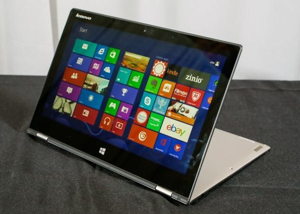 Hands-on with Lenovo's high-res IdeaPad Yoga 2 Pro