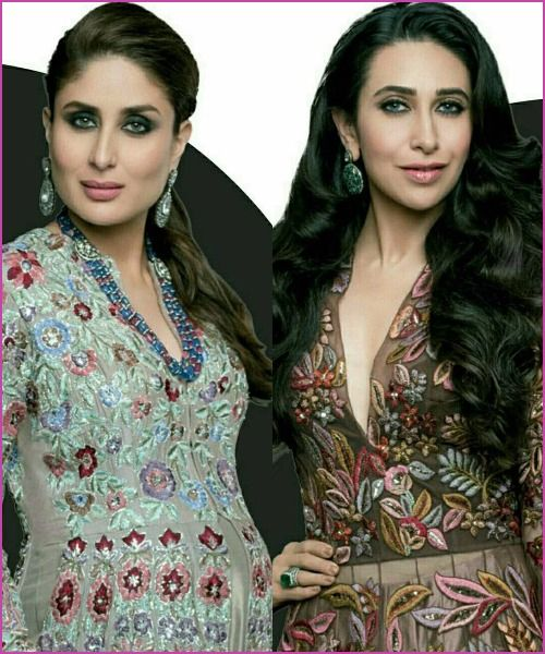 Kareena Kapoor Khan and Karisma Kapoor Looked Royal