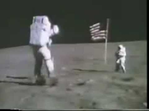 This is a fun YouTube video that shows Buzz Aldrin and Neil Armstrong jumping and bouncing around on the moon. The kids got a kick out of the music, while we also talked about gravity on the moon vs. Earth.