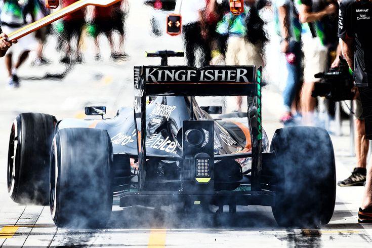 Sergio Perez, Force India, Bahrain International Circuit, 2015