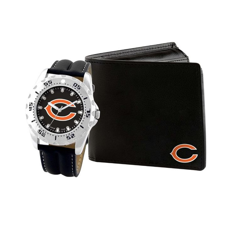 NFL Chicago Bears Men's Watch and Wallet Gift Set