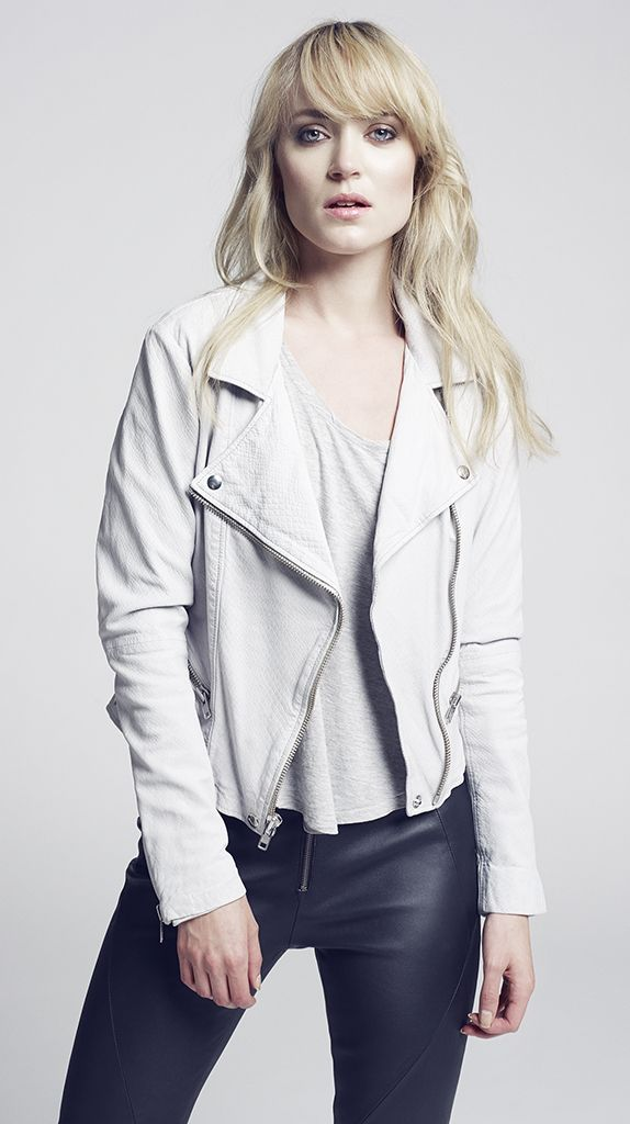 ROSIE jacket  GINGER leather pant