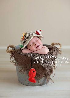 Fishing Hat & Fish Set | $5.00  by Caryn Ekhoff