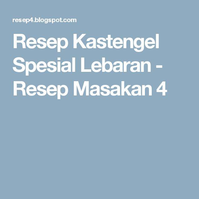 Resep Kastengel Spesial Lebaran - Resep Masakan 4