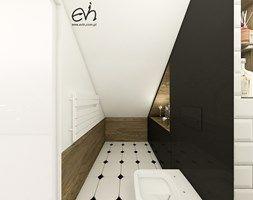 Potrójna łazienka - Łazienka, styl industrialny - zdjęcie od Evin