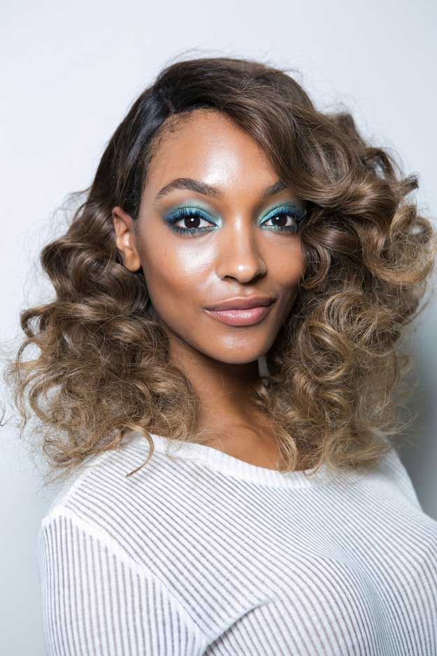 Jourdan Dunn at DVF's S/S 2016 Show | Best Celebrity Eyebrows Of 2016, check it out at http://makeuptutorials.com/best-celebrity-eyebrows-makeup-tutorials