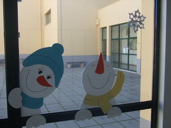 decoração de natal para escola - Pesquisa Google