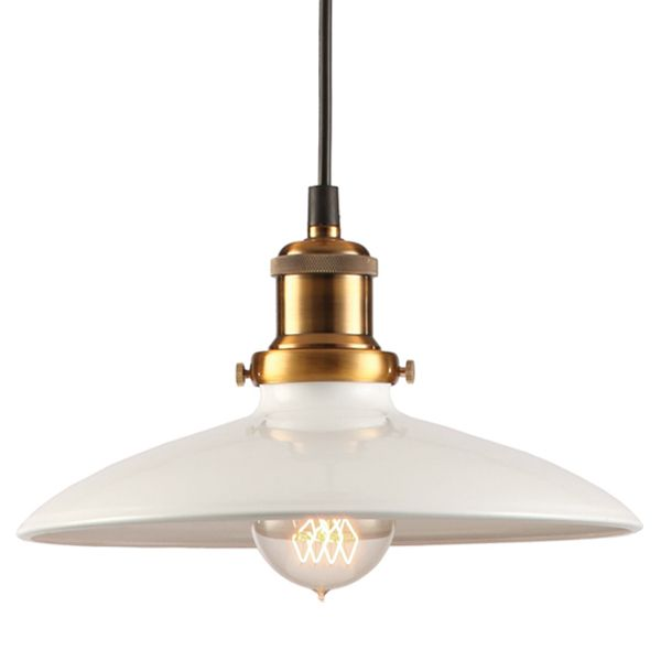 Светильник Loft Industrial White Bronze