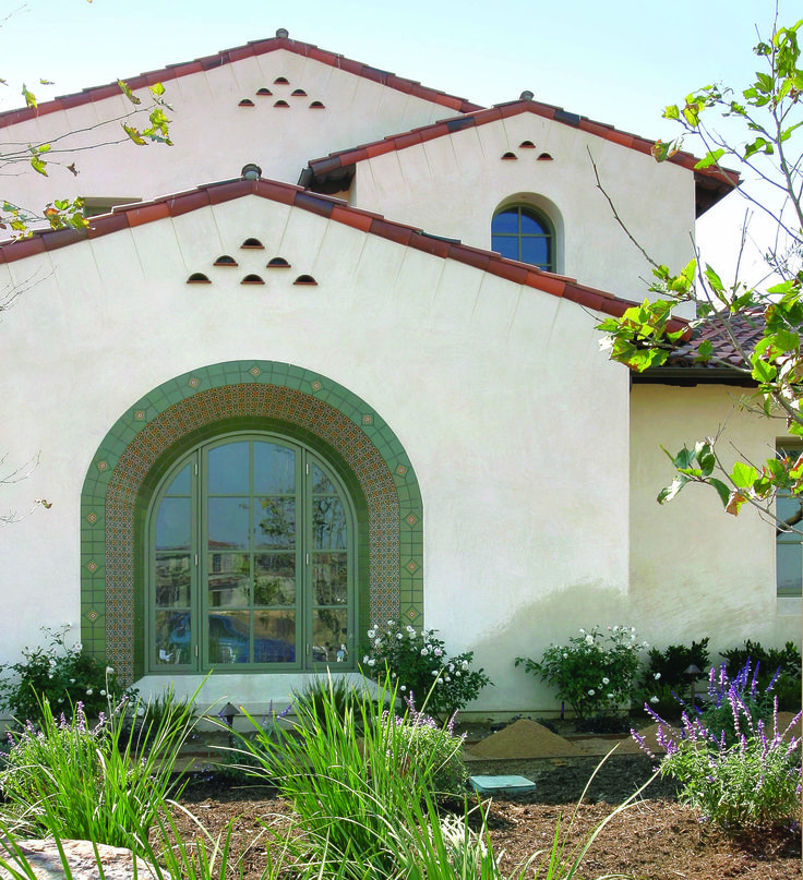 Spanish Colonial Architecture: // Exterior // 7,272 Square Foot Spanish Colonial Custom