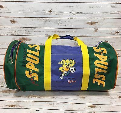 Vintage 1992 Shimizu S-Pulse Japan Football Soccer Large Duffle Carrying Bag  | eBay