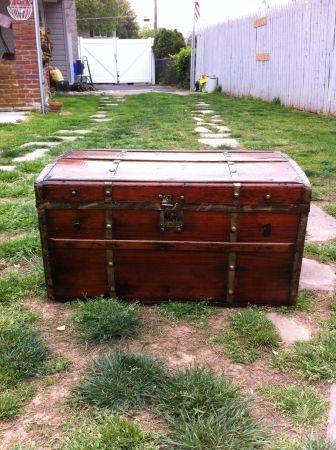 $125 craigslist steamer trunk   Steamer trunk, Storage ...