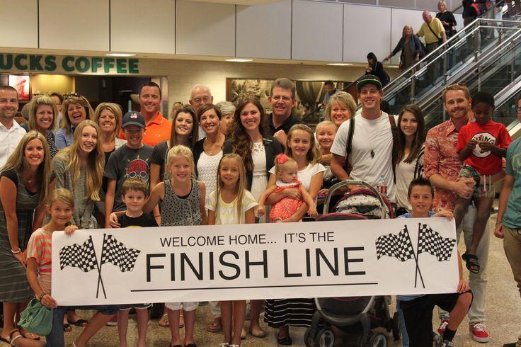 Missionary homecoming... she's finally home! — BlogCrew