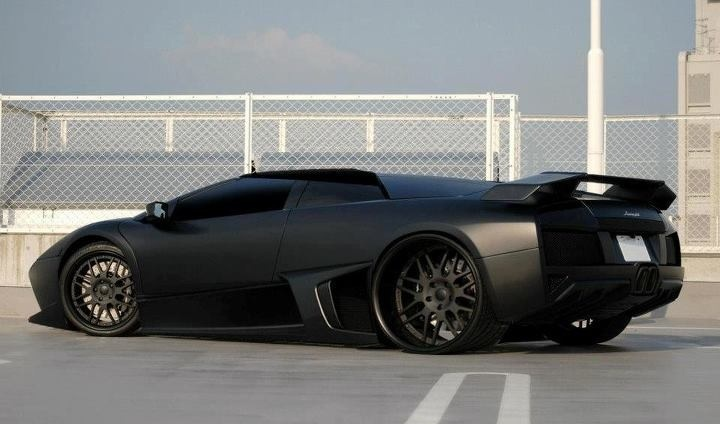 """What they call """"Murdered out"""""""