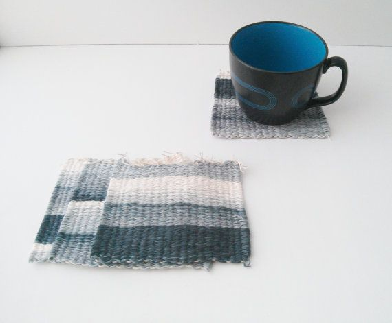 New entry: Woven coasters.