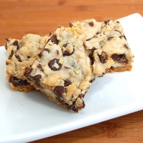 Must try these! - Cookie Dough Cheesecake Bars