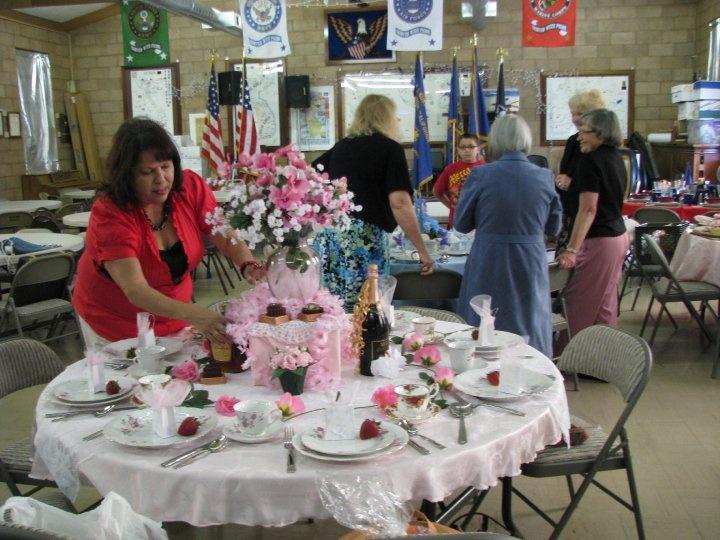 ladies tea party | Ladies Auxillary Tea Party & Fashion Show