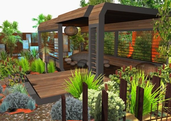 Rustic Gardening Ideas from Best Landscaping Ideas Pictures Collections 600x423 Best Landscaping Ideas Pictures Collections