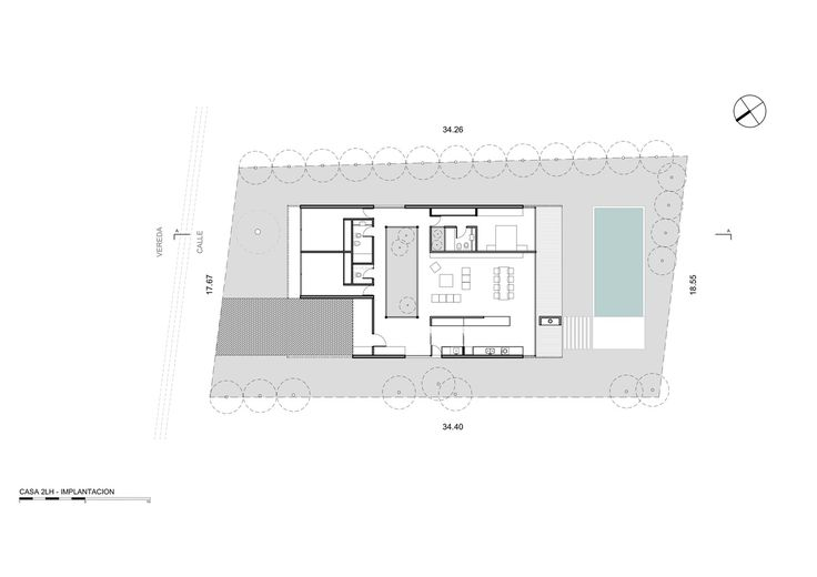 House 2LH,Site Plan