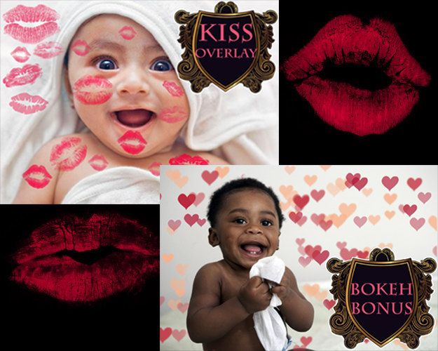 Baby Overlay Kiss overlay Romantic overlays Lipstick photo Kisses Kissing Lips Transparent PNG newborn photography