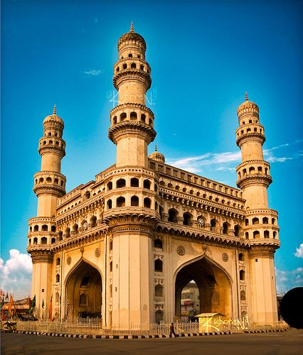 Hyderabad (India). 'The ancient  architecture of several excessively  wealthy dynasties sits  just across town from a refined  restaurant, nightlife and arts  scene.' http://www.lonelyplanet.com/india/andhra-pradesh/hyderabad-and-secunderabad