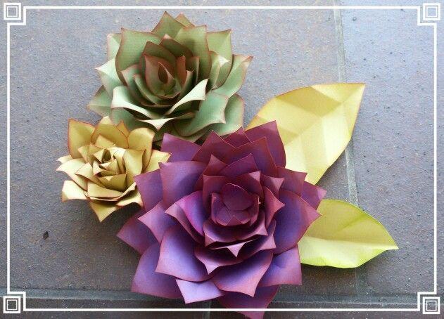 Captus de papel ideales para adornar cualquier rincón.   Los puedes encargar del tamaño que desees y color