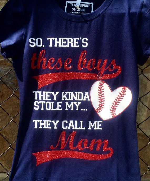 So there's these boys Baseball Mom Shirt by TeamSpiritShoppe