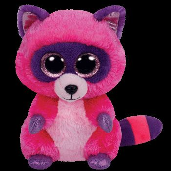 Ty Beanie Boos Roxie Raccoon Small