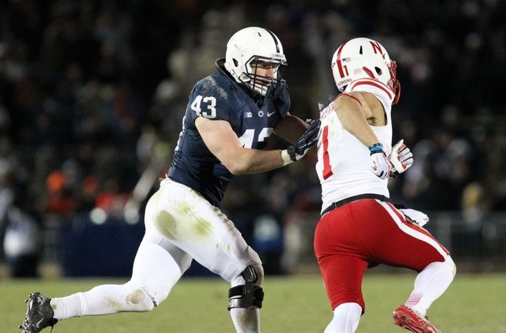 PENN STATE – FOOTBALL 2013 – Though there are some question marks surrounding the Nittany Lion linebackers this season, one that's ensured a starting spot is Mike Hull. He's arguably the best of the bunch and has the most experience of anyone else on the roster at that position.