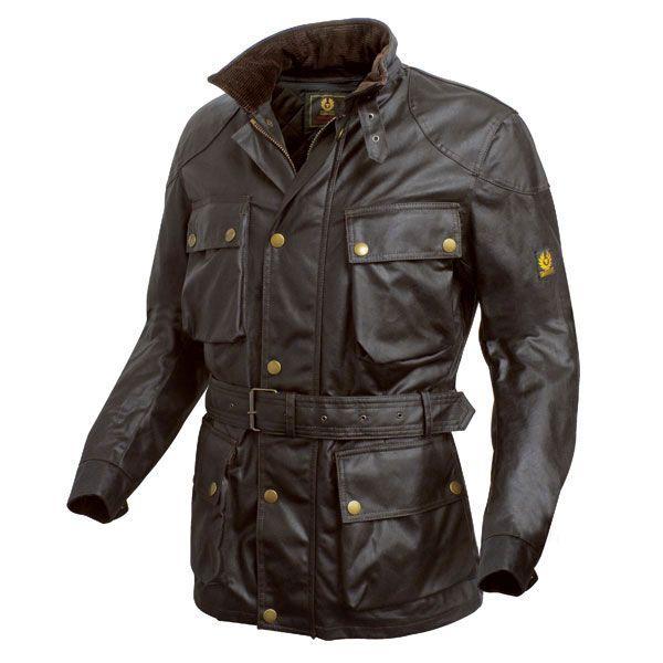 Belstaff Trialmaster wax cotton jacket - brown