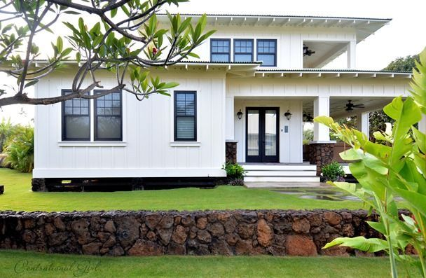 Vacationing in a plantation style Kauai home on Hawaii.