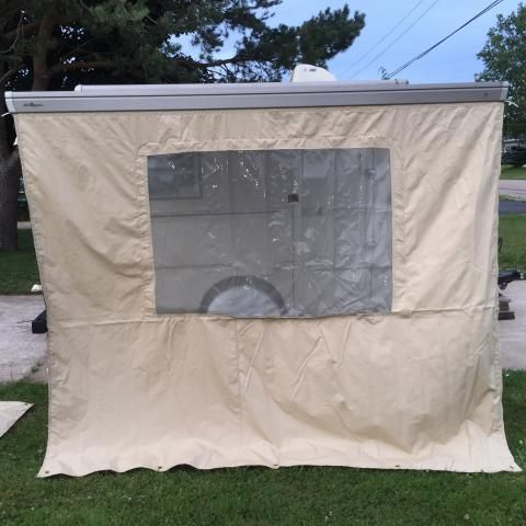 SOLD Price Reduced - Trillium Add-on Tent and Awning - $500 - Truro, NS, Canada | Fiberglass RV's For Sale