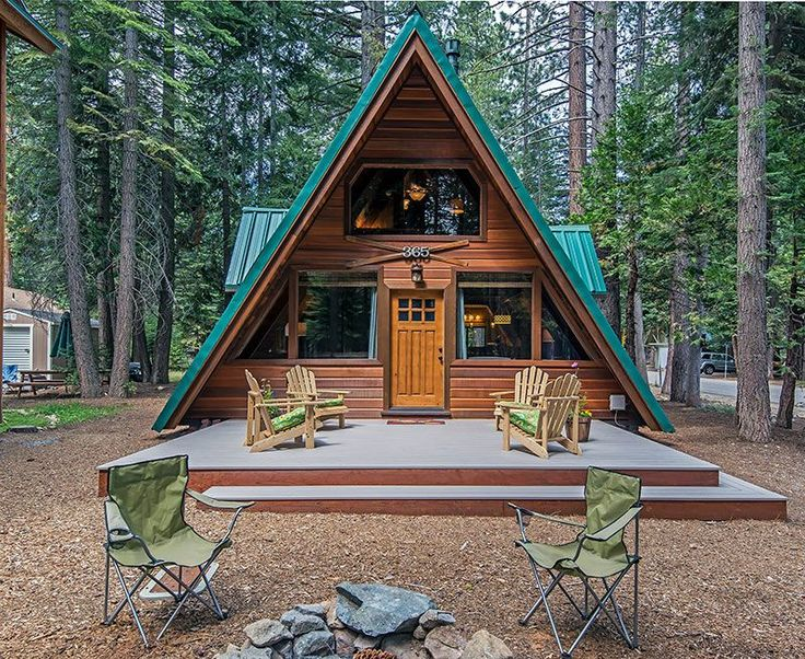 VRBO.com #611346 - Adorable A-Frame Cabin on the West Shore of Lake Tahoe