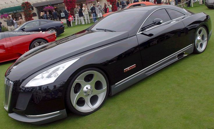 Maybach Exelero ~ The Most Expensive Sports Car- $8 Million Dollars.