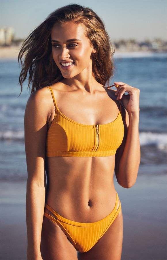9400679b3377f Roxy Color My Life Athletic Bikini Top | # Beach Party in 2019 ...