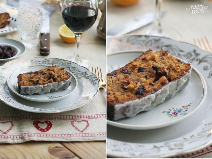 Веганский тыквенный кекс с орехами изюмом и клюквой (Vegan Pumpkin Walnut Bread)