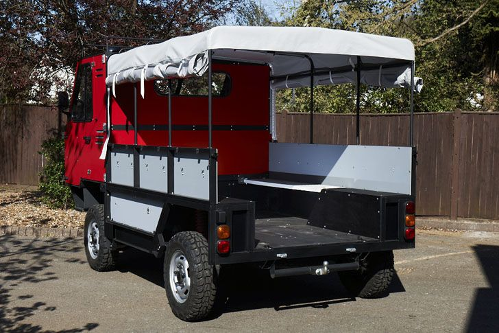 OX, the World's First Flat-Pack Truck