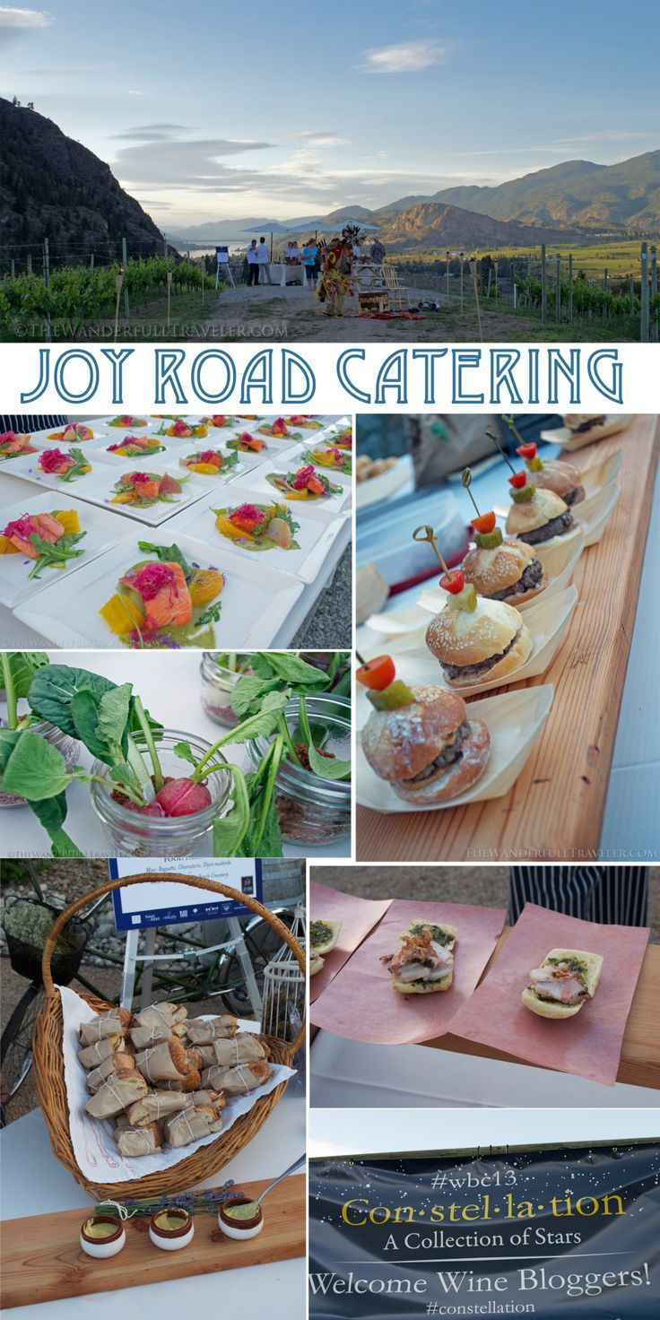 If you visit the Okanagan this summer be sure to book a Joy Road Catering al fresco dinner! My first experience with them was at the Wine Bloggers Conference in 2013 held in Penticton. It was as if Gatsby planned a moveable feast Okanagan style #WBC13 Joy