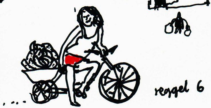 Anyám a Szemere utcai polgáriba járt, és mivel a leckét az órák alatt írta meg, igazán ráért délután kasszírozni, vagy a család triciklijén árut szállítani