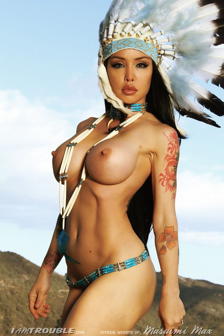 Native american nude hotties