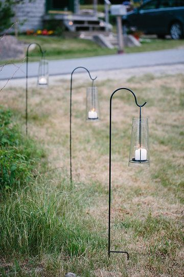 Photo by Summer Street Photography.  Acadia Lanterns provided by Take Off Events.