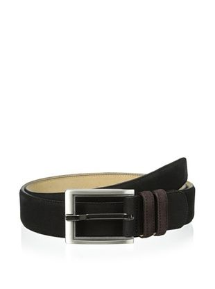 82% OFF Mezlan Men's Suede Belt (Black/brown)