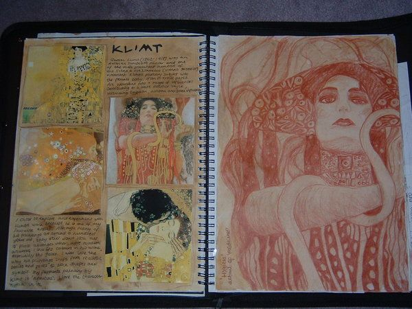 gcse sketchbook. by ~ThePoppyGirl on deviantART