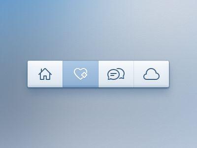 Nice and clean toolbar