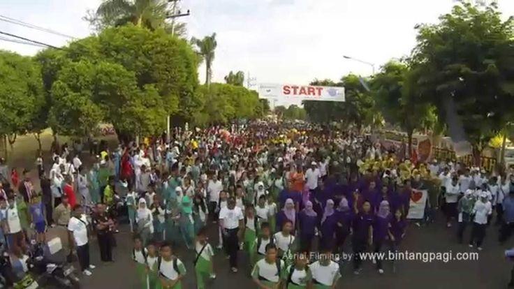 Aerial Video Jalan Sehat Banyuwangi